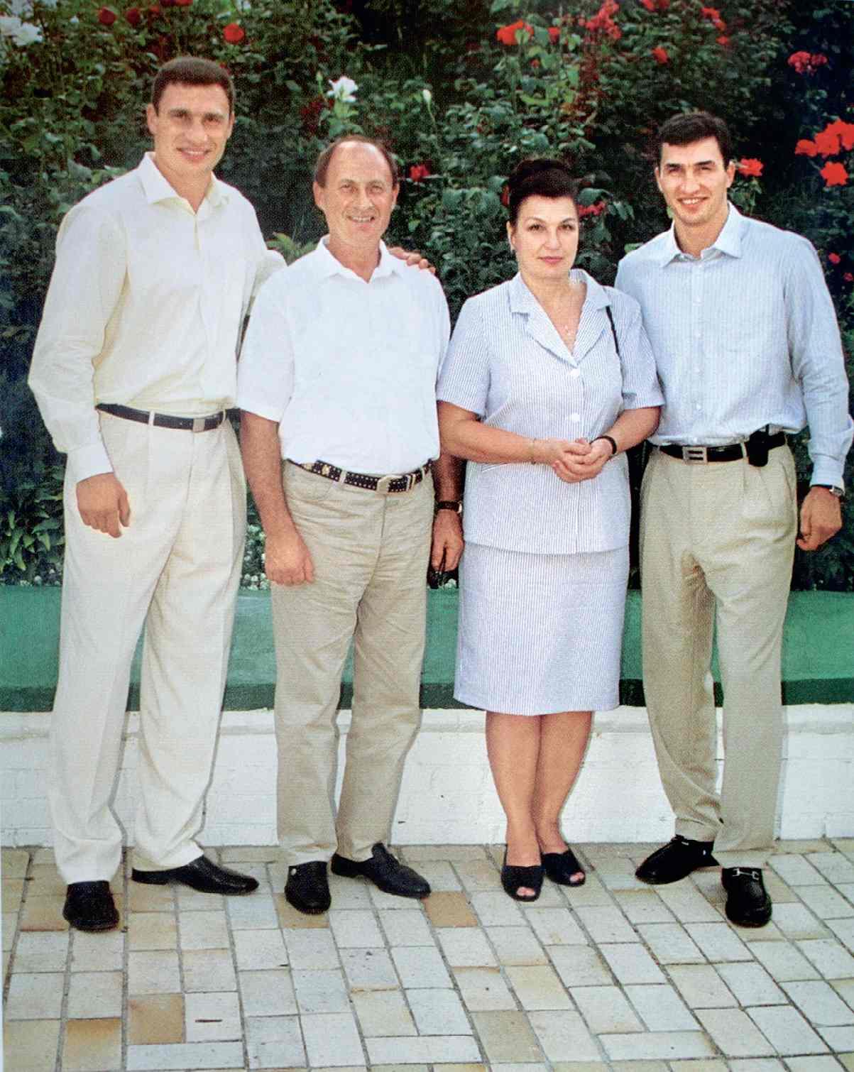 Семья кличко фото детей